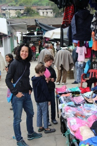 friday market in El Cocuy